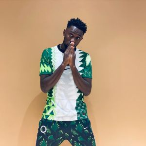 I'm proud to be a Nigerian - Ndidi says as he shares photos of him in Super Eagles new kit (Photos)