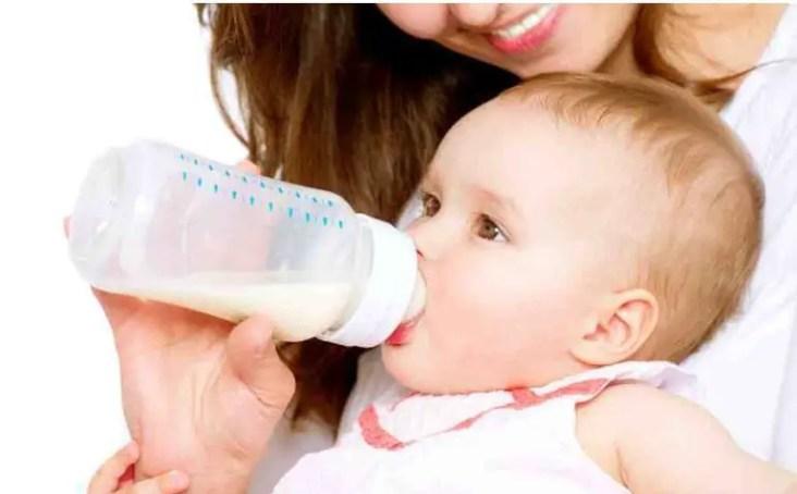 مدة صلاحية الرضعة المصنوعة للطفل