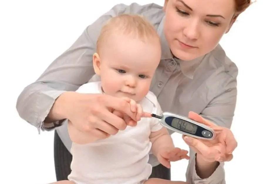 مرض نقص سكر الدم للأطفال الرضع