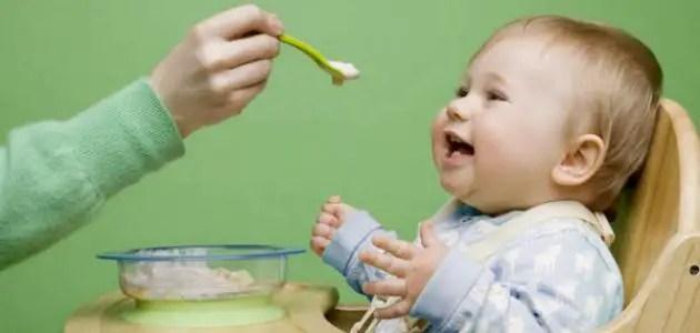 طعام الرضيع