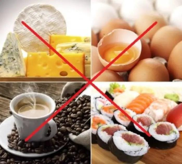الأعشاب والأطعمة المضرة للحامل