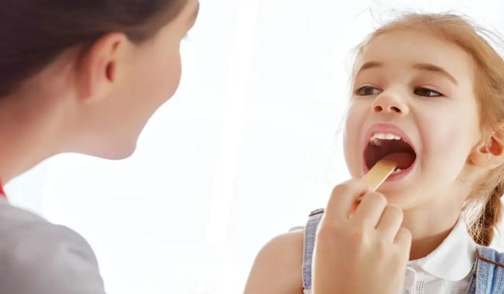 التهاب لسان المزمار لدى الأطفال