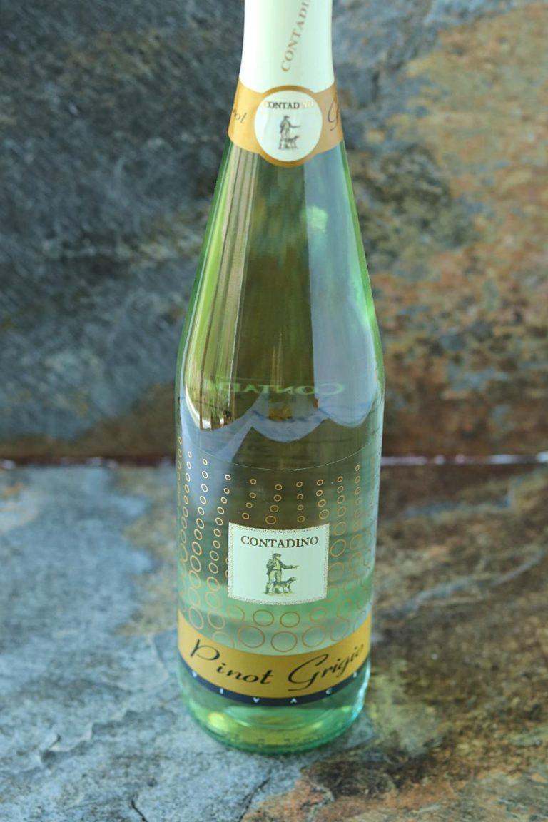White wine. But if you are not a wine lover, substitute wine with sparkling water or any fruit juice.