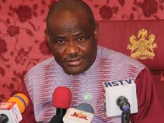 Rivers state Governor Wike