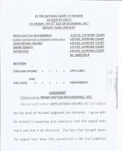 JUDGMENT 1