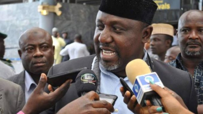 Image result for INEC can't withhold my certificate of return –Okorocha