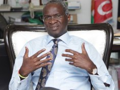 Babatunde Raji Fashola, The Nigerian Minister of Works and Housing