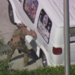 Man suspected to be behind sending of bomb parcels arrested by FBI