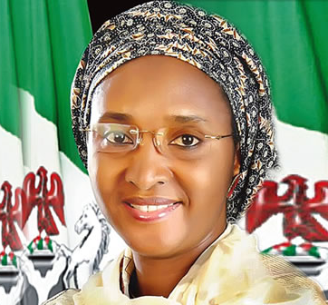 Mrs Zainab Ahmed, Minister of Finance