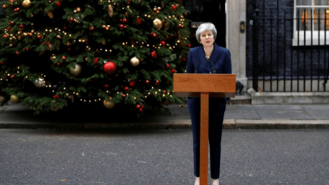 British prime minister Theresa May under fire: Faces vote of no-confidence over BREXIT