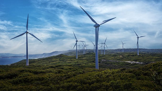 Renewable Energy - Wind farm