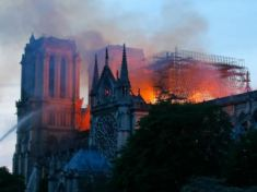 France mourns as 850 years old Notre Dame Paris Cathedral got ravaged by fire