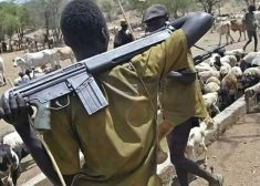 Fulani Herdsmen with AK47 Guns