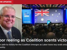 Australia Federal election results: Ruling Party At The Verge of Victory
