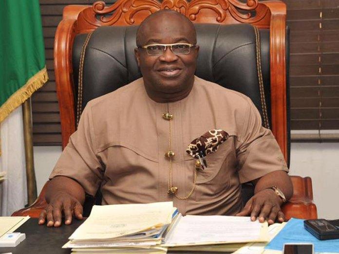 Abia state governor Victor Okezie Ikpeazu