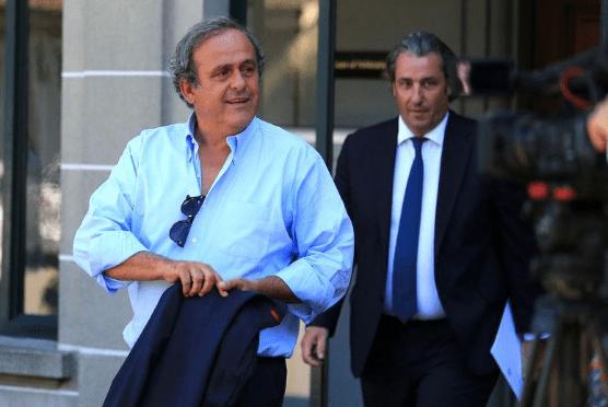 WORLD CUP ARREST - Former UEFA chief Platini Arrested Over Qatar 2022