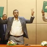 Sudan's military and revolutionary protest leaders sign new constitutional declaration