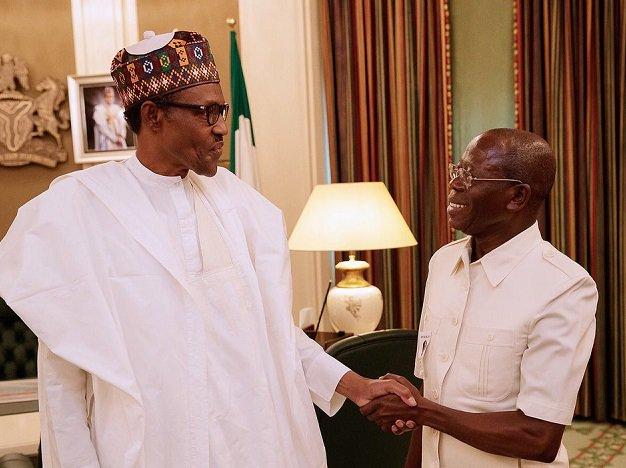 President Buhari and Oshiomhole