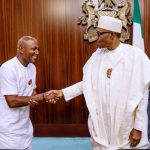 Buhari and David Sylva