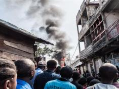 CONGO Plane Crashes into residential area leaving at least 24 dead - Govt