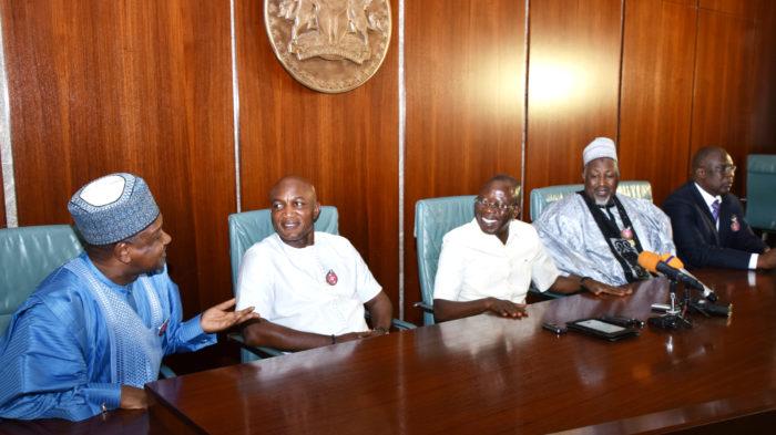 Kebbi state governor and Bayelsa state governor elect David