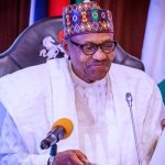 Nigerian president General Muhammadu Buhari