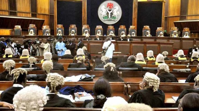 JUST IN- Supreme Court dismisses APC's application to review Bayelsa governorship judgment