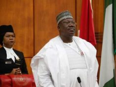 The President of the Senate, Ahmad Lawan