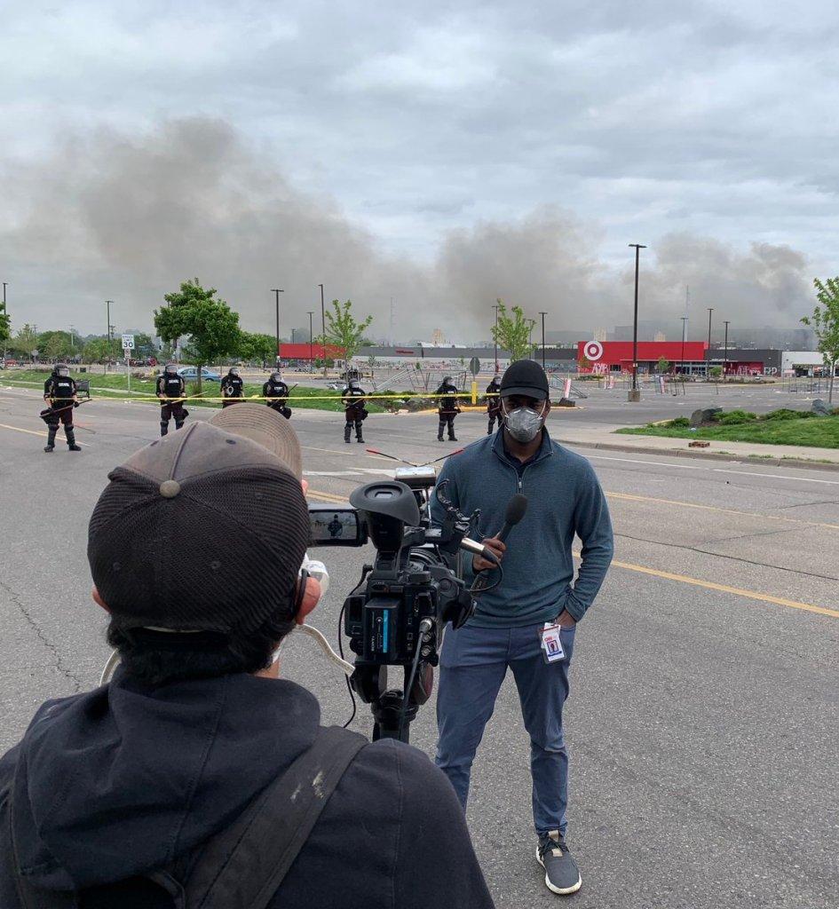 CNN Reporter Arrested on set