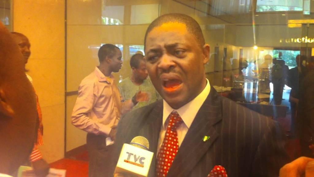 Former Aviation Minister Femi Fani Kayode
