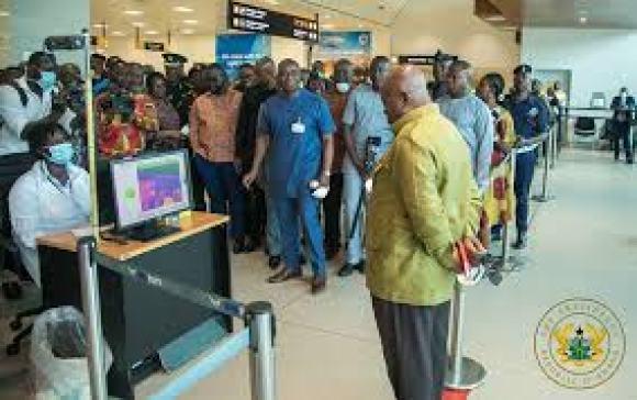 Ghana Corona virus fight