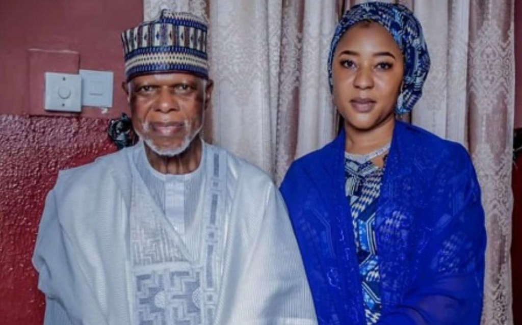 Col. Hameed Ali and new wife