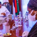 President @MBuhari presides over a Virtual meeting of the Federal Executive Council