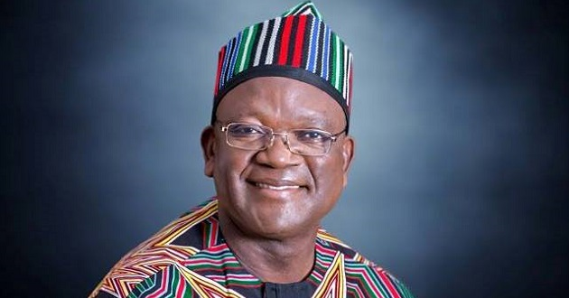 Benue state governor, Samuel Ortom
