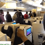 Covid 19: Air Peace chattered flight evacuating 253 stranded Nigerians from UK has arrived Lagos