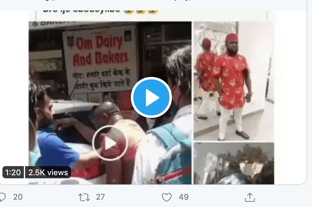 Nigerian governments seeks justice for Nigerian brutally beaten to death in India (Video)