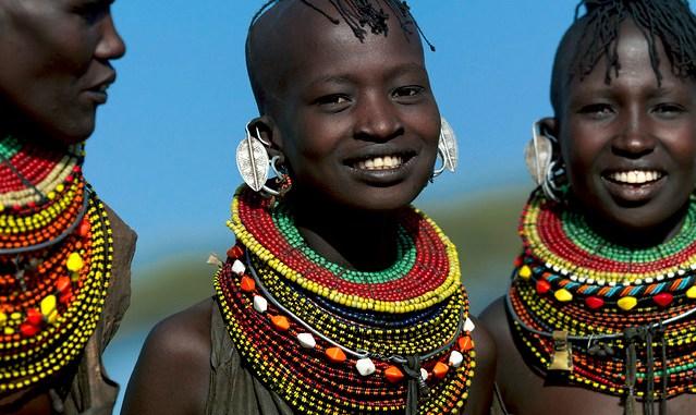 Turkana people of Kenya