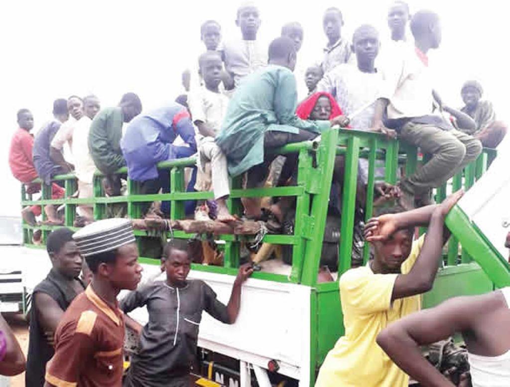 Almajiris transported from Minna