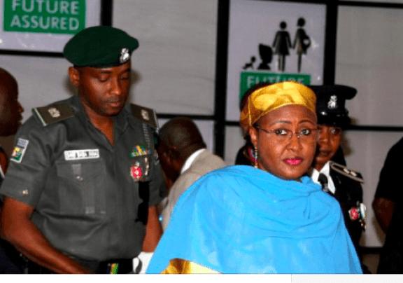 Aisha Buhari and ADC Police