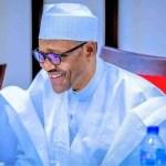 President Buhari Smiling