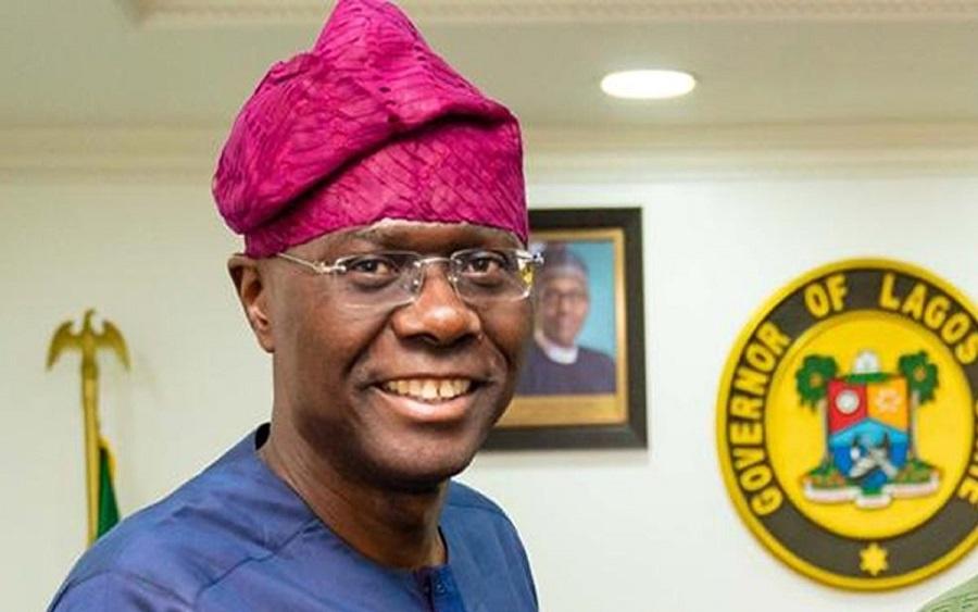 Governor of Lagos state Sanwo-Olu