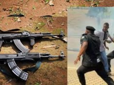 Hoodlums Attack Police Checkpoint, Kill Inspector, Cart Away Two Ak-47 Rifles In Cross River