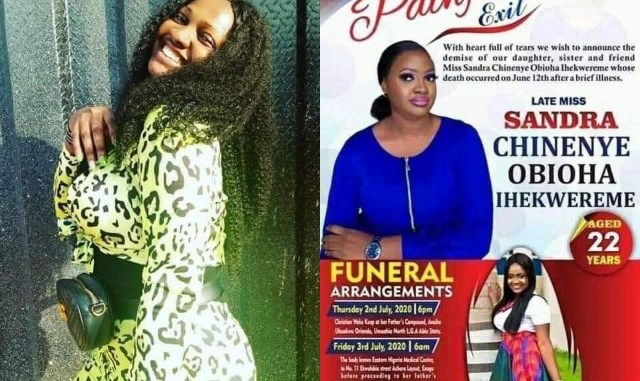 Nigerian Lady Dies After Posting If I Die During Lockdown No Need For Autopsy