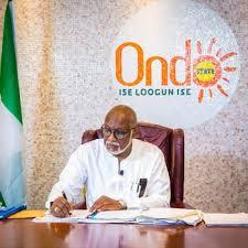 Ondo State Governor - Rotimi Akeredolu