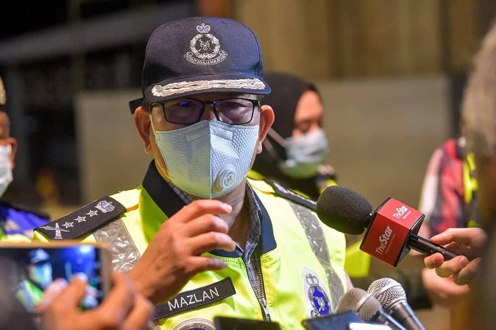 Kuala Lumpur police chief Datuk Seri Mazlan Lazim