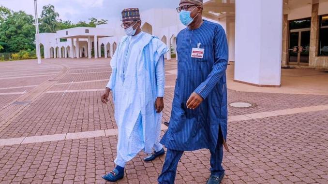 Yakubu Dogara and President Buhari