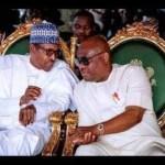 Governor Wike and President Muhammadu Buhari