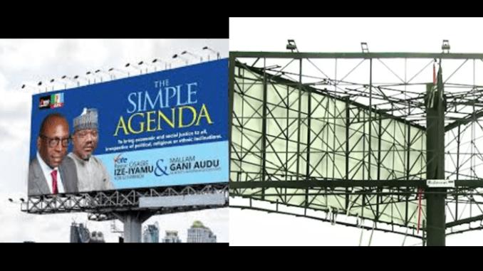 Ize Iyamu APC Campaign Billboard