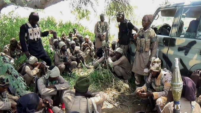 NIgerian Military Battling Boko Haram