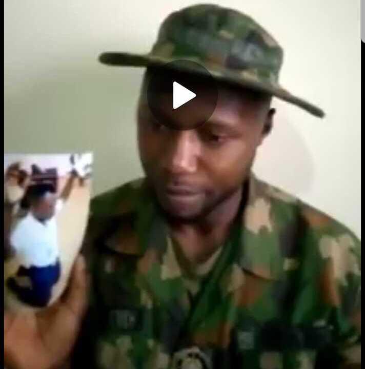 SAD STORY- How Senior Nigerian Military Officer Enslaved, Dehumanised Junior Naval orderly, Haruna (VIDEO)